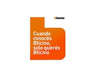 Bticino branding language