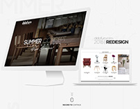 DidoFurn 2018 Web Site | Redesign