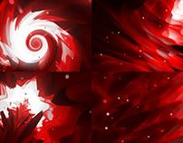 Red Worlds - VJ Loop Pack (4in1)