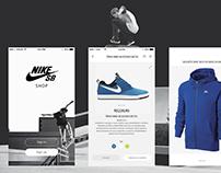 Nike SB Shop UI - Redesign