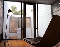Tadao Ando's - Azuma Row house