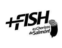 Logo +Fish Chorizo de salmón