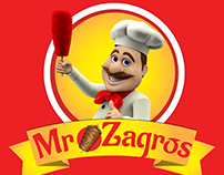 Mr Zagros - Brand Designing