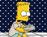 The Simpsons x Yeezy Boost 350