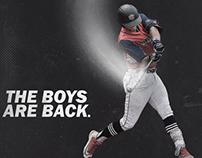 Liberty Baseball social media post for ASeaOfRed.com