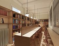 Σχολική βιβλιοθήκη σε αίθουσα δημοτικού σχoλείου