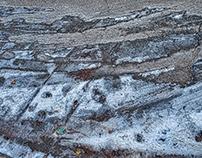 Ice +Snow on Road!