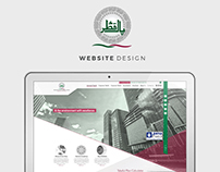 Pakqatar website redesign