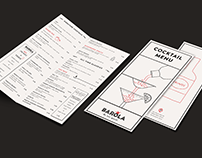 Barola cafe bar - Web design & print material