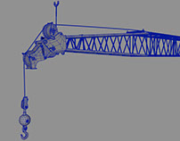 """NERVE"" (Crane modeling, uvs, set design)"