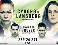 UFC Fight Night 95 Cyborg Vs Lansberg L'i'v'e Str'ea*m
