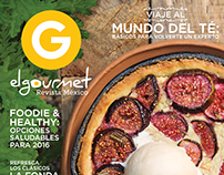 Cover El Gourmet Mexico January 2016