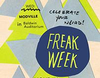 Art Direction: Freak Week - IPAC