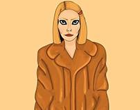 Margot Tenenbaum Illustration