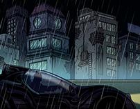 Comic sequence of Batman -  BCP