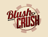 Blush & Crush - Site Web & cartes de visite