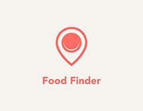 Food Finder - A Local Restaurant Finder App