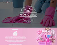 Moe Clean & More Web Design
