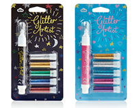 GLITTER ARTIST (NPW) - glue pen and glitter sets [2013]