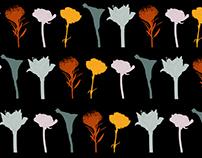FLOWERS SCARVES