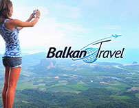 "Logo design for tour operator ""Balkan travel"""