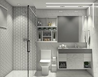 Banheiro do Suíte
