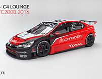 2016 Citroën C4 Lounge STC2000 (project)