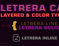 Letrera Caps Typeface