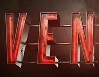 VENICE - 3D Neon sign