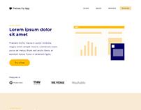 Free Bootstrap Saas App Theme - Actium - #C2