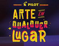 Pilot Pintor - Arte em qualquer lugar (Pilot / B-Young)