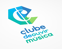 Clube de Ouvir Música - Logo