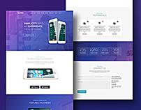 Oliver – Mobile Website Template