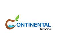 Continental Travels Logo design