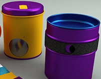 Tin product line for Producto&Diseño