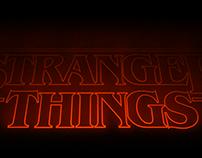 Stranger Things Logo 3D