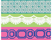 3D Printed Laces for Lilly Pulitzer