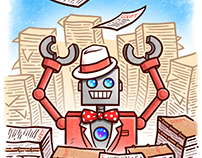 """""""Renton the Robot"""" Pages 14 - 15"""