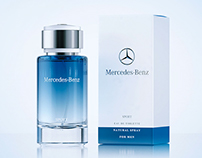 Mercedes-Benz SPORT - 3d scene of the Perfume