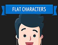 FLAT CHARACTERS DESIGN