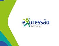 Redesign Logo Expressão Idiomas