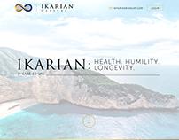 Ikarian Splash Page