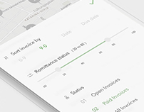 Mobile UX - Customer Info