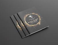 Cookbook / Recipe Book Template Design