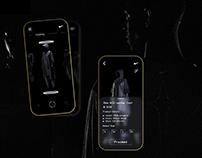 Futuristic Nike Lab App