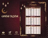 Ramadan Calendar Design - 2021