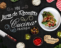 Fratello Restaurante - Mini Livro de Receitas (Folder)