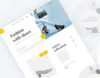 Shoes - Ecommerce website