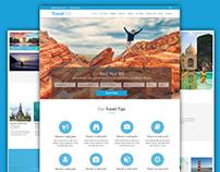 Travel On - Travel/Tour/Booking PSD Theme