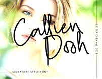 Callien Pooh Free Font